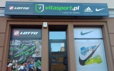 Kaseton reklamowy – Vita Sport