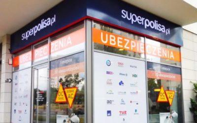 Branding punktów – Superpolisa Warszawa