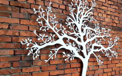 Frezowanie CNC – dekoracyjne drzewko