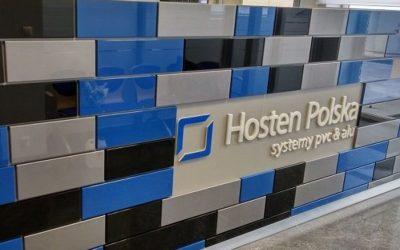 Branding przestrzeni dla Hosten Polska